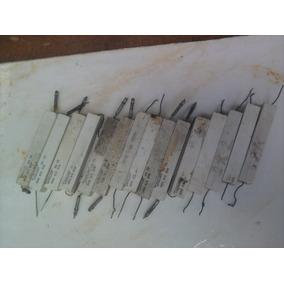 Resistores Cerâmico Telewatt 5r6 // 2r2 // 69r Vintage