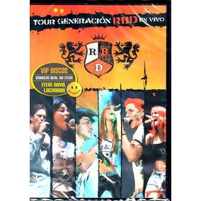 Dvd Rbd Tour Generación En Vivo Original Novo Lacrado Raro!!