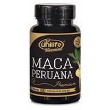 Maca Peruana Premium 100% Pura 550mg - 60 Cápsulas Original