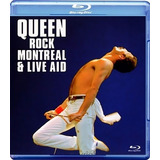 Blu - Ray - Queen - Rock Montreal & Live Aid