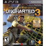 Uncharted 3 Goty Ps3 Digital Gcp