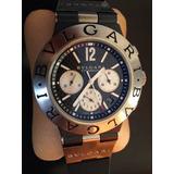 !!!reloj Bulgari Bulgari Diagono Cronografo Titanio Regalado !!! 3bbd7653aa4b