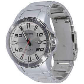 4b283f5872b Relógio Orient Mbss1252 Masculino Mostrador Prata Original. R  458