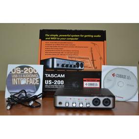 Placa Interface De Audio Tascam Us200 Usb Midi Cubase Driver