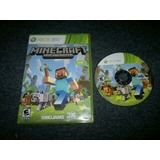 Minecraft Completo Xbox 360,excelente Titulo,checalo