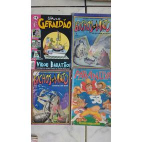 6 Revistas De Humor Geraldão Chiclete Banana Escarceu Bichos