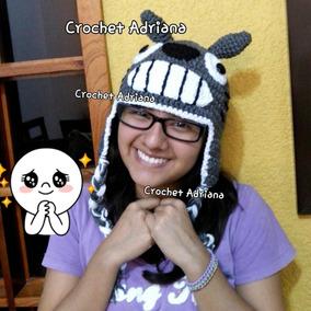 Gorro Totoro Tejido Crochet Adulto