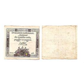 88.066 - França - 15 Sols - 24/10/1792 - B C - Veja Fotos