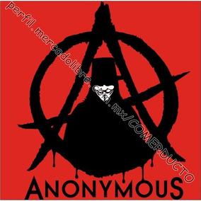 Playera Anonymous V For Vendetta V De Venganza Eco Wmdz