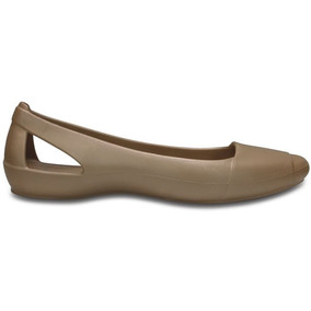 Zapato Crocs Dama Crocs Sienna Flat Oro