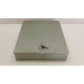 Caja De Efectivo De Acero - Uso Rudo.