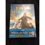 Blu-ray Digibook As Aventuras De Tintim