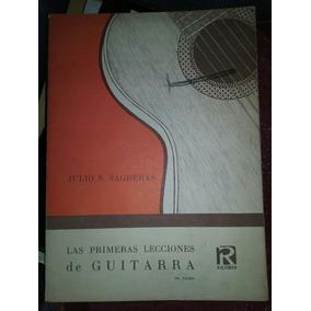 Primeras Lecciones De Guitarra. Luis Sagreras