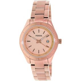 33f13543d88d2 Relogio Feminino Rose Fossil - Relógio Feminino no Mercado Livre Brasil