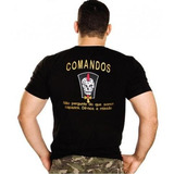 Camiseta Bordada Comandos