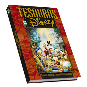 Hq Tesouros Walt Disney Ed Colecionador Capa Dura Em Estoque