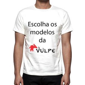 Kit 5 Camisas, Camisetas Estampa Total Modelos Da Vulpe