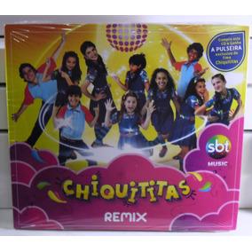 Cd Chiquititas Remix Sbt Lacrado Com Pulseira Não Xuxa Sandy