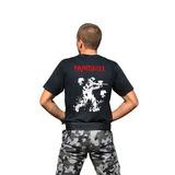 Camiseta Paintball Preta Tática Militar