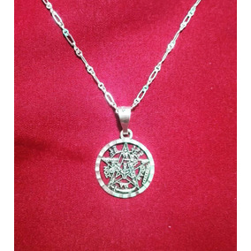 Dije Tetragramaton + Cadena De Plata 925
