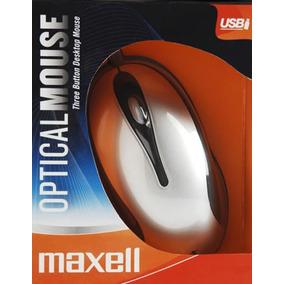 Mouse Óptico Alámbrico De Escritorio Maxell Modelo Mowr 101