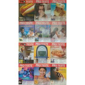 Lote Com 17 Revistas De Saúde Proteste Frete Grátis