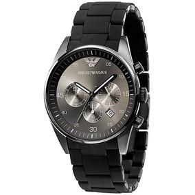 d108db06907 Relógio Emporio Armani Ar5931 Preto Lindo A Pronta Entrega ...
