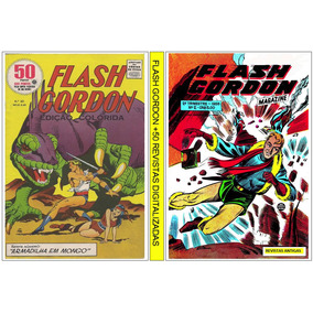 3 Dvd - Flash Gordon +250 Revistas Digitalizada (antigas)