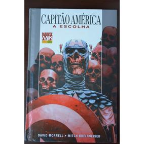 Capitão América Capa Dura A Escolha David Morrel Mitch Breit
