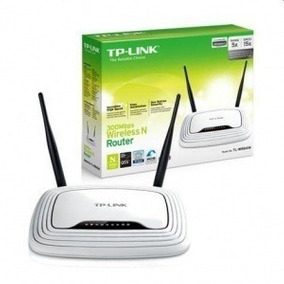 Router Inalambrico Tp-link Wr841n 300mbps Wifi Sellados!