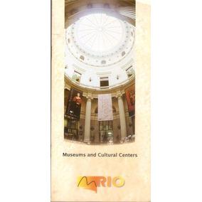 Folder Museus E Centros Culturais Cidade Do Rio De Janeiro.