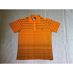 Camisa Quiksilver Polo M c Golden - 61.16.1358 - Nova 3981964eb6591