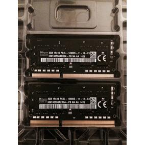 Memoria Notebook/laptop 4gb = 2x2gb Ddr3 1600hz Pc3-12800