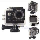 Camara Sports Full Hd 1080p Sumergible Al Agua 30 Metros