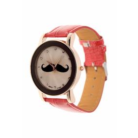 Reloj Palmas De Reyna Mostacho Red