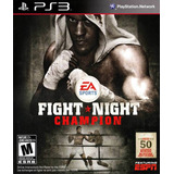 Fight Night Champion Ps3 Digital Gcp