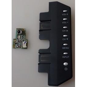 Teclado De Funções + Sensor Da Tv Aoc L32w831