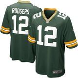 Camisa De Futebol Americano Green Bay Packers Pronta Entrega
