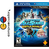 All-stars Battle Royale Psvita Original Sellado Nuevo