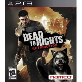 Jogo Dead To Rights Retribution Ps3 - Usado