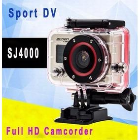 Câmeras Profissional Go Pro Estilo À Prova D