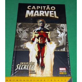 Capitão Marvel - Invasão Secreta Capa Dura Marvel Deluxe