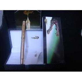 Caneta Lacoste Roller Original Gold Lindíssima 100% Original
