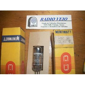 Válvula Hbc91 - 12av6 Philips Miniwatt Na Cx