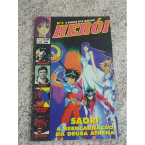 Revista Herói 8 Editora Sampa Acme Anos 90
