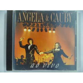 Cd Nacional - Angela & Cauby Ao Vivo Frete 10,00
