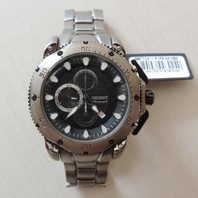 7663d99a85b Relógio Orient Mbttc011 Titânio Masculino Lançamento Leve