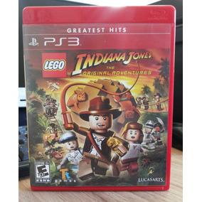 Jogo Lego Indiana Jones Play 3 (original) Novo E Lacrado