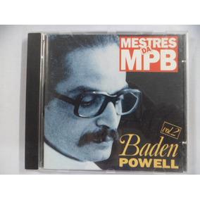 Cd Nacional - Mestres Da Mpb - Baden Powell Vol 2 Frete 10
