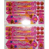 Adesivo Colante Para Bike Infantil Barbie Princess